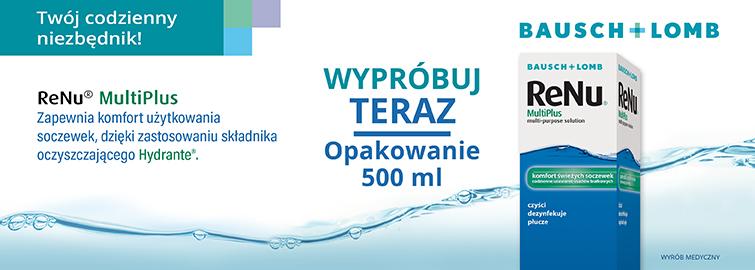 Ekonomiczna, większa pojemność płynu ReNu - aż 500 ml