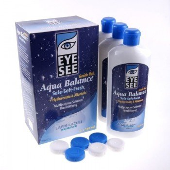 Płyn Eye See Aqua Balance 3x360 ml