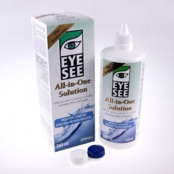 Płyn Eye See AiO Solution Plus Hya 360ml (Plus Hyaluronate)