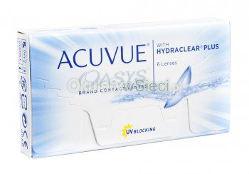 Acuvue® Oasys® z Hydraclear™ Plus 12szt.