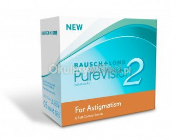 PureVision 2 for Astigmatism 3 szt.