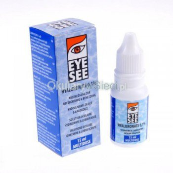 Krople  Eye See Hyaluronate 0,1% 15ml