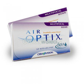 Air Optix™ Aqua Multifocals 3szt.