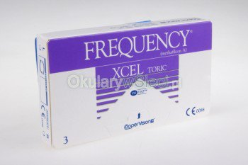 Frequency Xcel Toric 3szt.