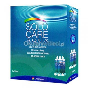 Zestaw Solocare AQUA 3*360ml