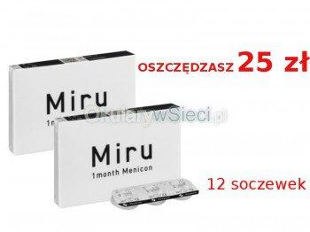 2 x MIRU 1 month 12szt +