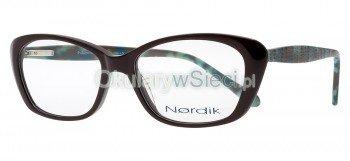 oprawki Nordik 7181 brązowe