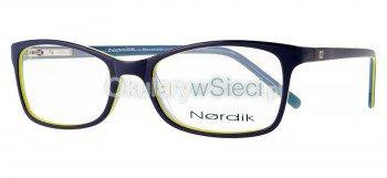 oprawki Nordik 7555 niebiesko/granatowe