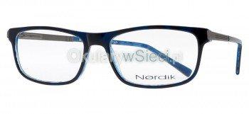 oprawki Nordik 7203 niebiesko/granatowe