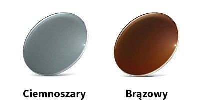 Okulary przeciwsłoneczne korekcyjne, szkła okularowe barwione