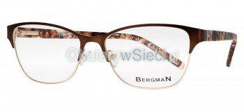 oprawki Bergman brązowe