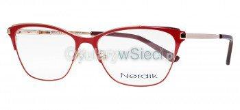 oprawki Nordik czerwone