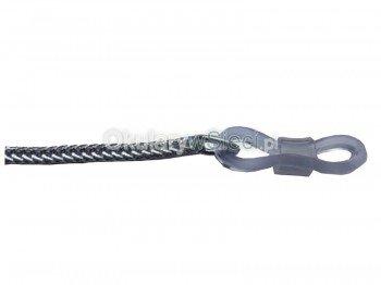 Łańcuszek aluminiowy do okularów srebrny