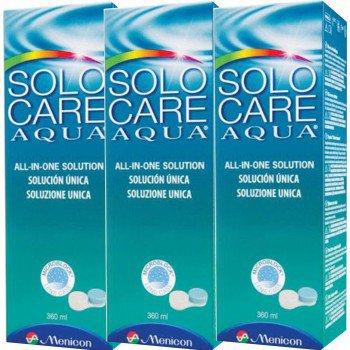 Płyn Solo Care AQUA 3x360ml, SoloCare + 3 pojemniki