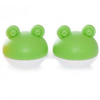 Pudełeczko na soczewki Frog (zielone)