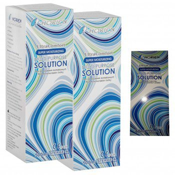 Płyn Horien Ultra Comfort 2x500 ml + 60ml