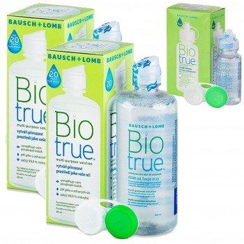 Płyn BioTrue 2x300ml + 60ml GRATIS