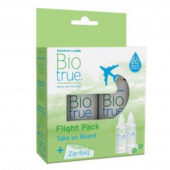 Zestaw podróżny Biotrue Flight Pack 2x60 ml