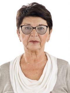 Damskie tanie okulary korekcyjne dla seniorki do czytania i oglądanie telewizji