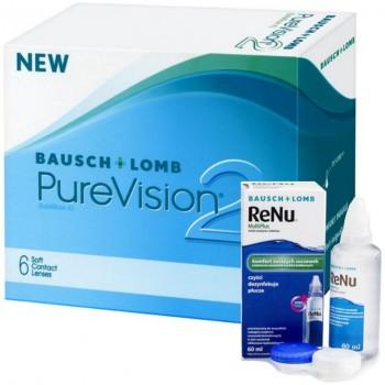 PureVision 2 6 szt. ReNu GRATIS