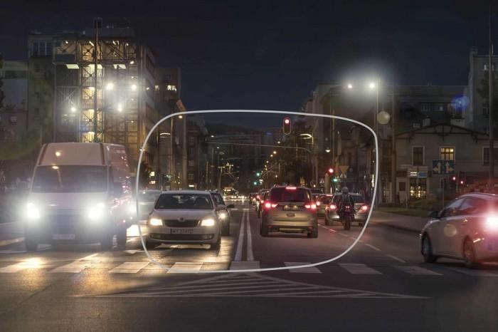 okulary korekcyjne dla kierowców, szkła okularowe Drive Control Szajna