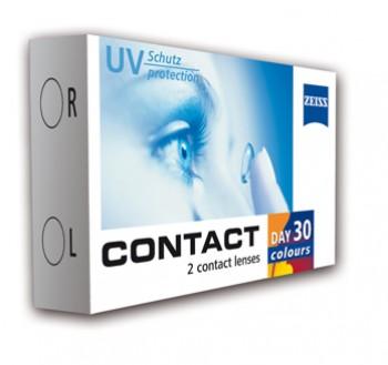 Contact Day 30 Colours 2szt. (trójkolorowe)