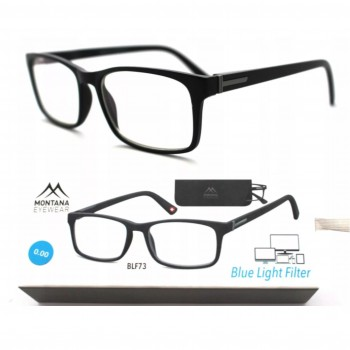 Okulary do czytania i komputera powłoka Blue moc: +1,0