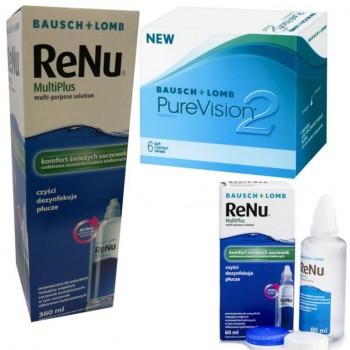 PureVision 2 + Multiplus 360+60ml GRATIS
