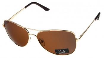 okulary przeciwsłoneczne Voka VS1046 brązowe