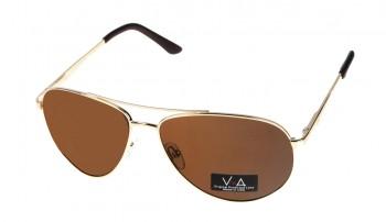 okulary przeciwsłoneczne Voka VS1045 brązowe