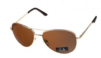 okulary przeciwsłoneczne Voka VS1044 brązowe