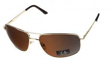 okulary przeciwsłoneczne Voka VS1043 złote