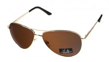 okulary przeciwsłoneczne Voka VS1042 brązowe