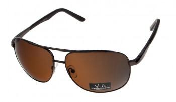 okulary przeciwsłoneczne Voka VS1041 brązowe