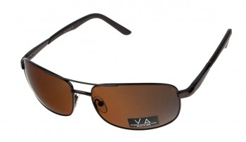 okulary przeciwsłoneczne Voka VS1040 brązowe