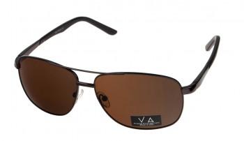 okulary przeciwsłoneczne Voka VS1038 brązowe