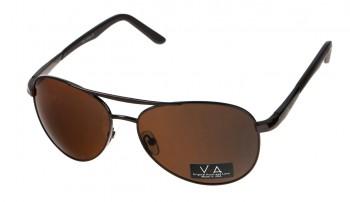 okulary przeciwsłoneczne Voka VS1035 brązowe