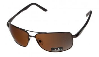 okulary przeciwsłoneczne Voka VS1034 brązowe