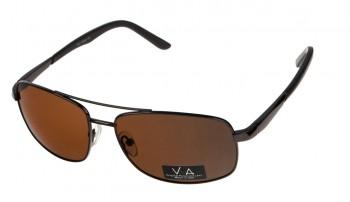 okulary przeciwsłoneczne Voka VS1033 brązowe