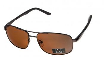 okulary przeciwsłoneczne Voka VS1032 brązowe
