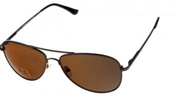 okulary przeciwsłoneczne Voka VS1030 brązowe