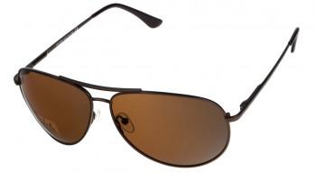 okulary przeciwsłoneczne Voka VS1028 brązowe