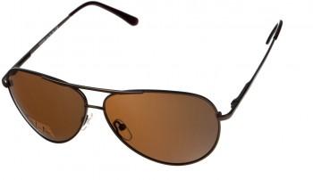 okulary przeciwsłoneczne Voka VS1026 brązowe