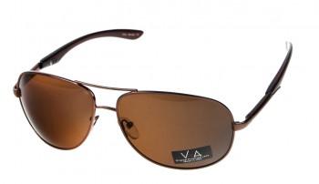 okulary przeciwsłoneczne Voka VS1024 brązowe
