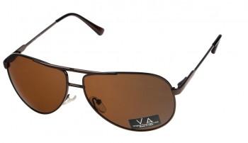 okulary przeciwsłoneczne Voka VS1020 brązowe