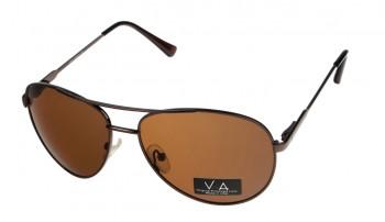 okulary przeciwsłoneczne Voka VS1019 brązowe