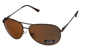 okulary przeciwsłoneczne Voka VS1018 brązowe