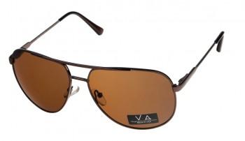okulary przeciwsłoneczne Voka VS1017 brązowe