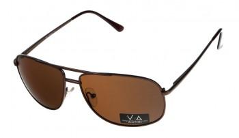 okulary przeciwsłoneczne Voka VS1016 brązowe