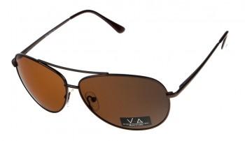 okulary przeciwsłoneczne Voka VS1014 brązowe